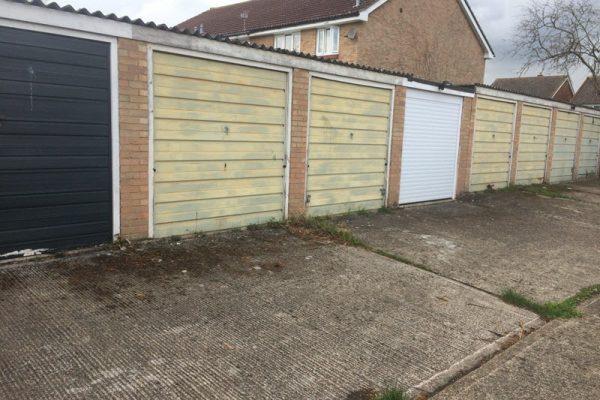 garage door in London fitted by Chalfont Garage Doors