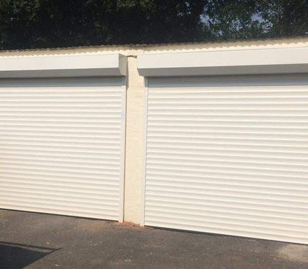 What a transformation! The new roller door are now installed and operational