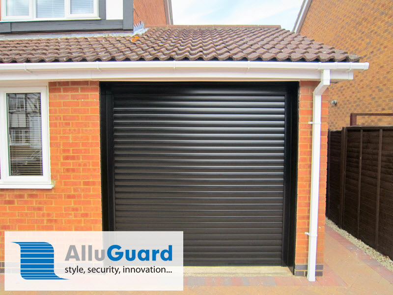 Alluguard Insulated Electric Roller Door fitted in London