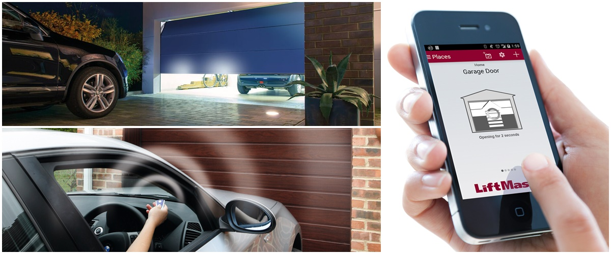 Automatic, Electric Automated Garage Door Repairs, London