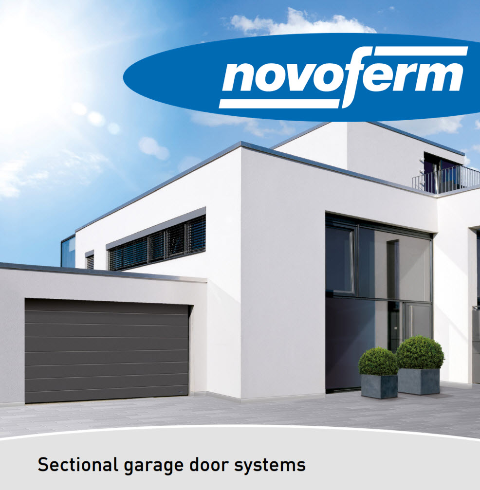 Novoferm sectional garage doors, London