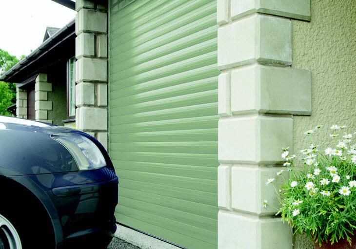 Pastel Colour Roller Garage Doors