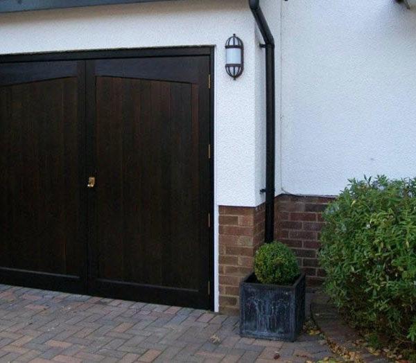 Side Hinged Garage Doors - London