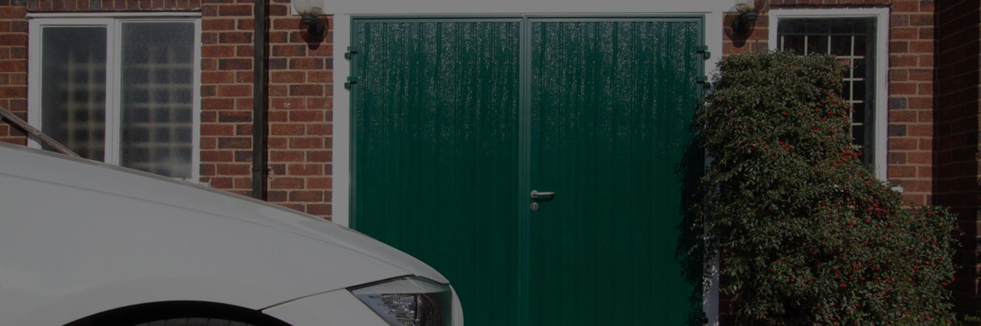 Side Hinged Garage Doors - London area