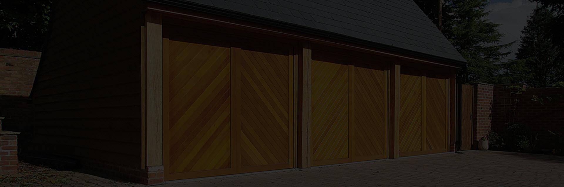 Timber Garage Doors - London - Example
