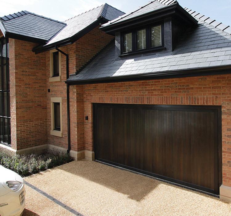 Timber Garage Doors London