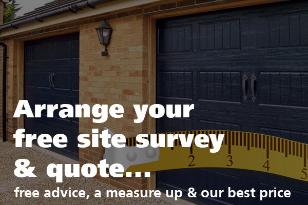 free quote for garage doors in London