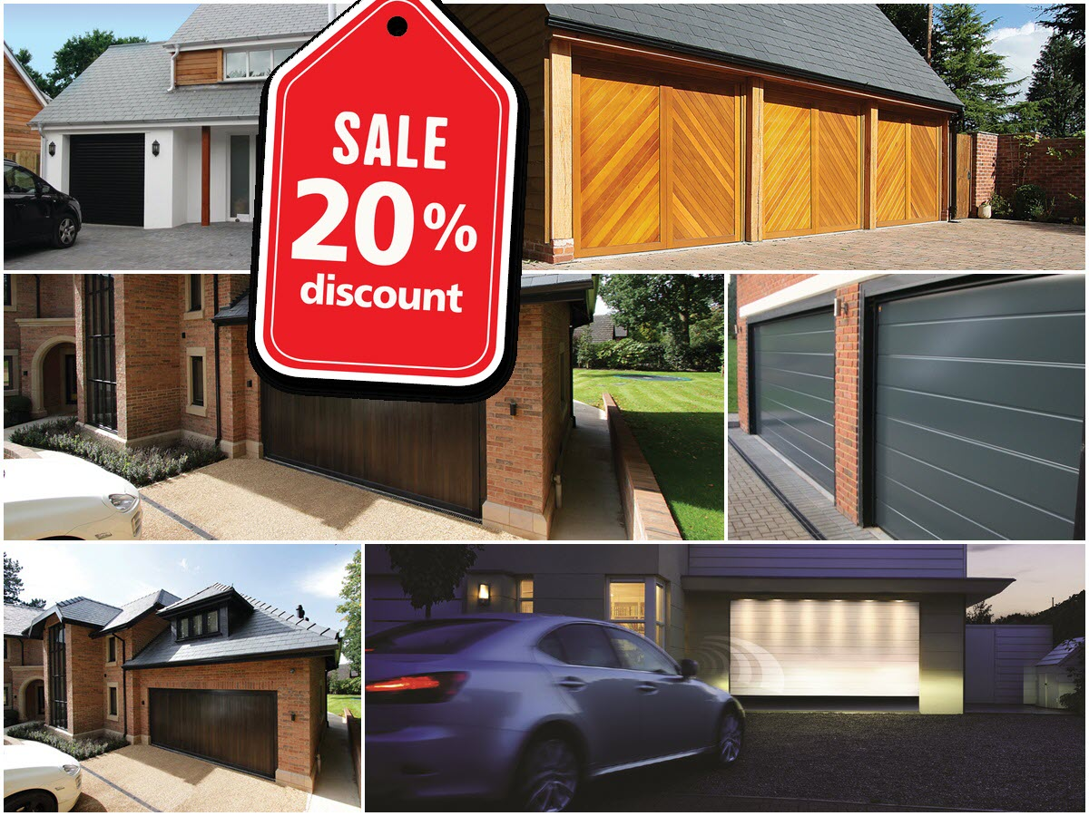 Garage Doors London - 20% OFF New Garage Doors Supplied and Fitted